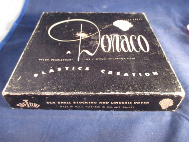 Donaco Plastics Company Vintage box
