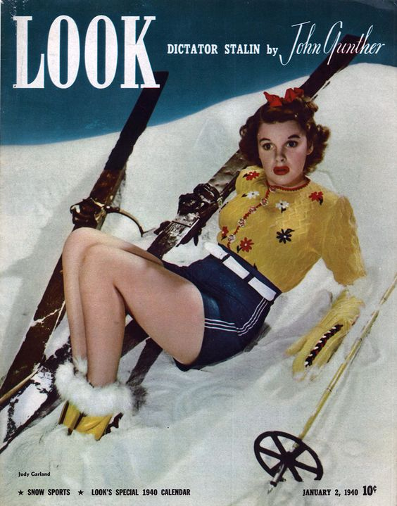 Judy Garland vintage magazine cover 1940
