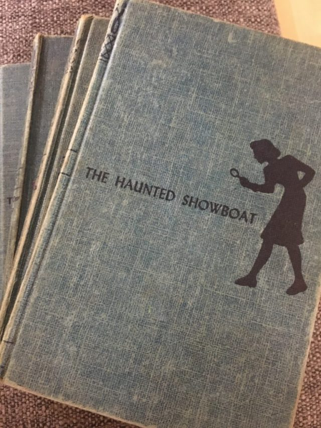 Front Cover of Nancy Drew 1950s Books