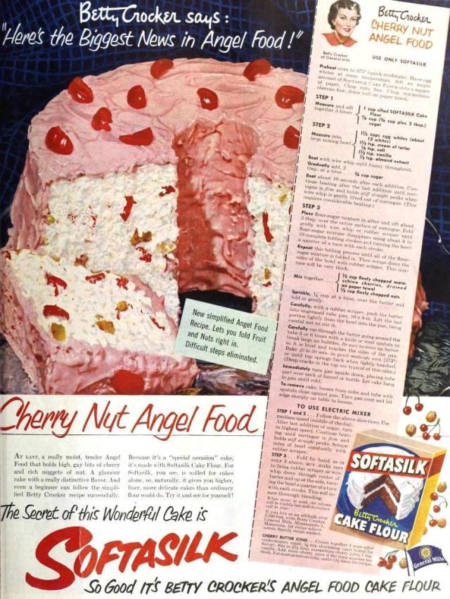 Betty Crocker Softasilk Cake Flour, May 1951