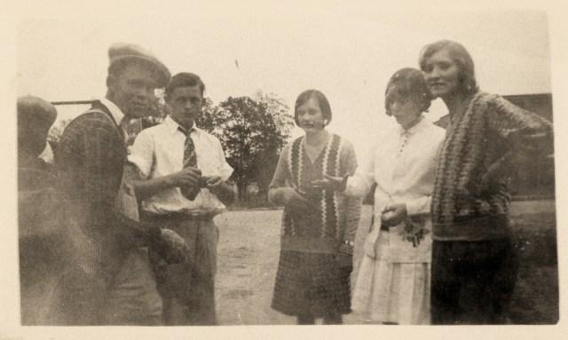 1920s Teenagers Vintage Photo