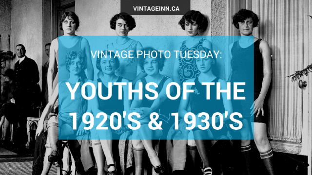 Vintage Photo Tuesday-Youths of the 1920's & 1930s