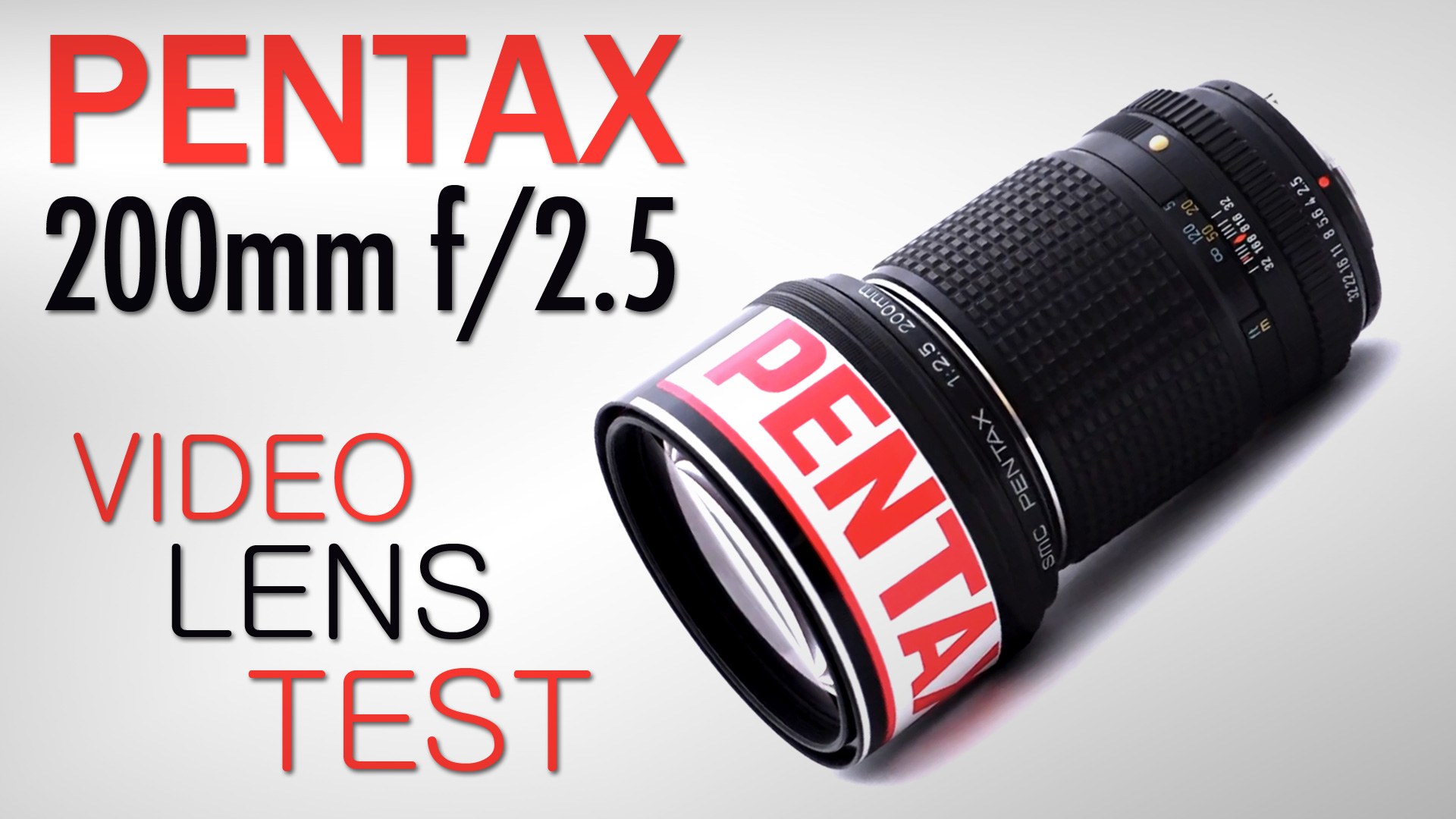 Pentax SMC 200mm f/2.5 Lens Test