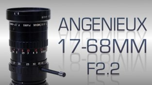 Angenieux 17-68mm F2.2 for BMPCC & D16
