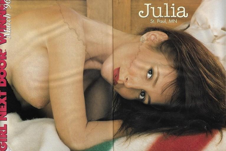 Gallery Magazine – Julia – GNDM – March 1996 [Full Scans]