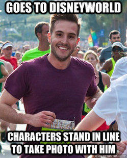 Ridiculously Photogenic Guy - Disney