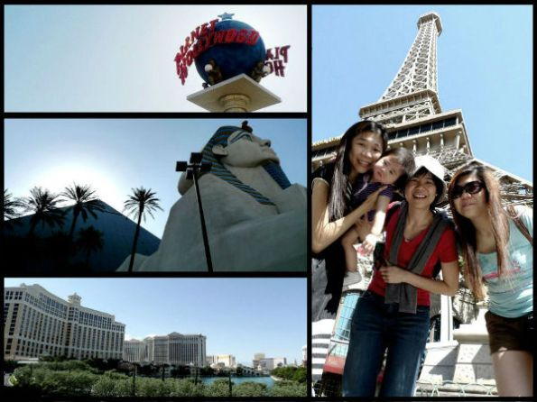 vegas by day