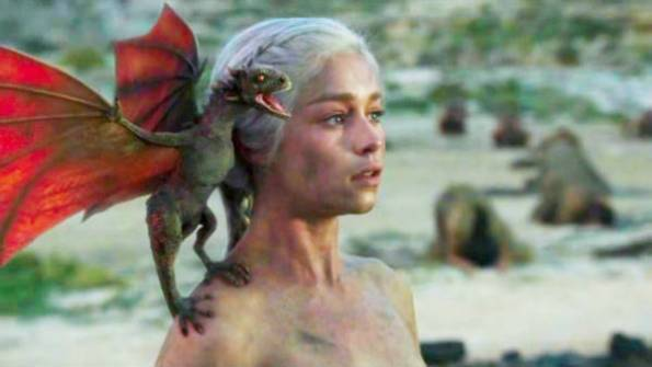 khaleesi and her dragon