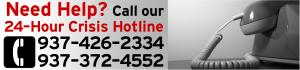 Crisis Hotline: 937-426-2334 or 937-372-4552