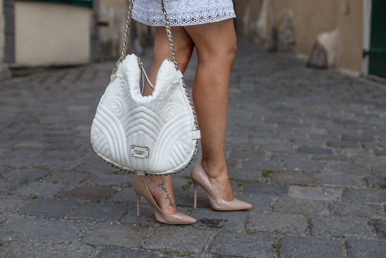 Outfit: All White Lace