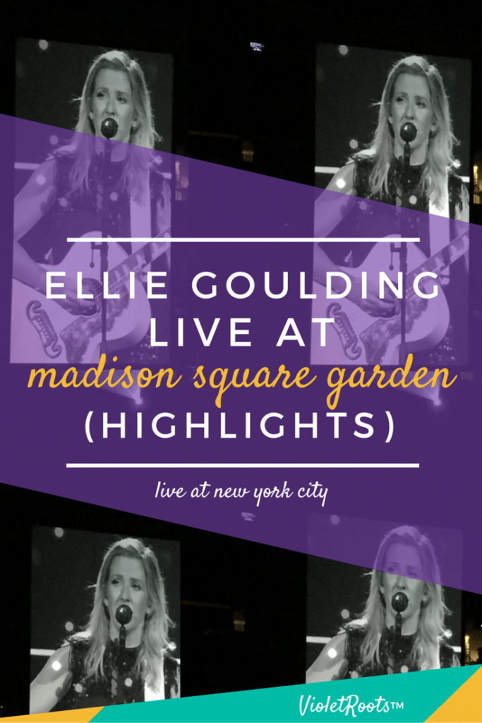 Ellie Goulding at Madison Square Garden - Ellie Goulding performed at Madison Square Garden in NYC for her North American tour with Matt and Kim! Get concert highlights and insights from the show!