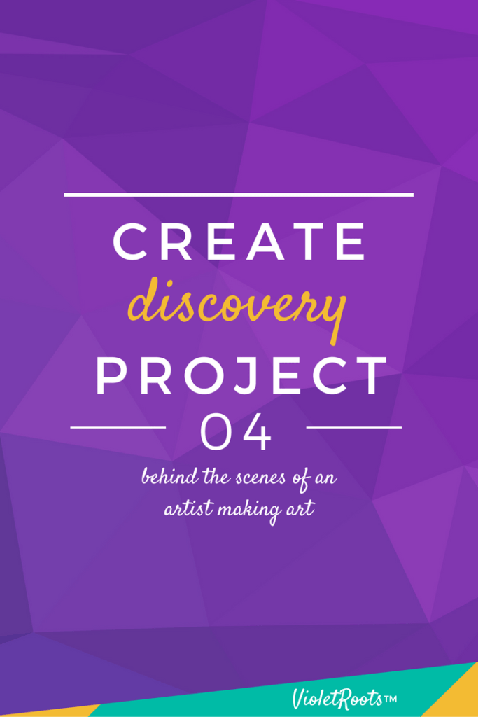 Create Discovery Project 04 - The Create Discovery Project 04 chronicles the ups, downs, & regular struggles that come with maintaining a fulfilling creative life on a daily basis.