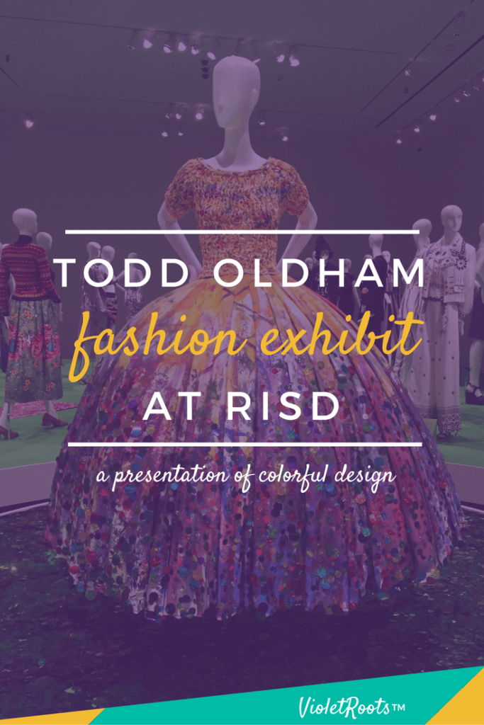 Todd Oldham Fashion Exhibit - Todd Oldham fashion exhibit at the RISD Museum showed off lively designs full of vibrant color and a fun sensibility. See highlights from the presentation!