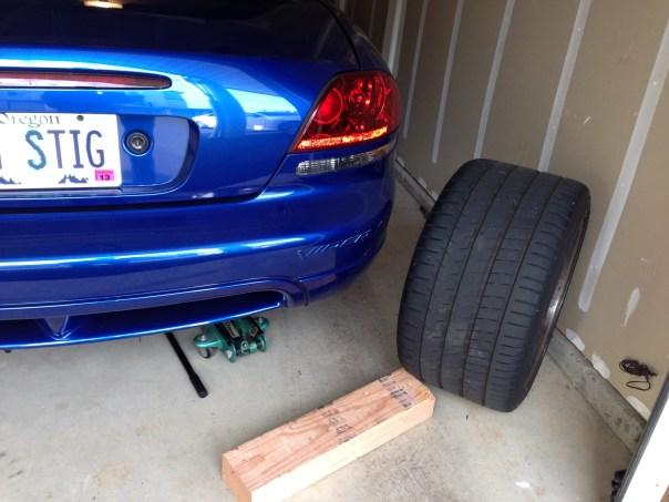 Viper Wheel Removed