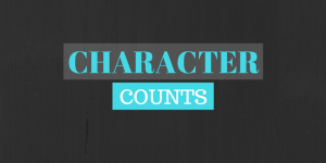 Rule no. 9 – Character Counts