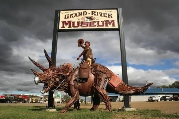 Esculturas de metal museum
