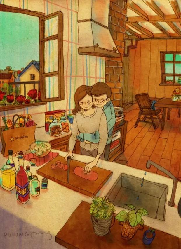 amor-detalles-Puuung-artista-ilustraciones-cocina