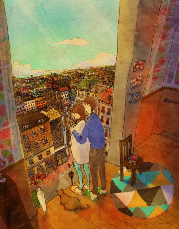 amor-detalles-Puuung-ilustraciones-vista-balcon