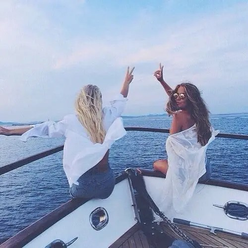 chicas-barco