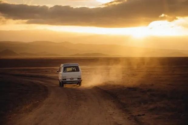 viajar en van
