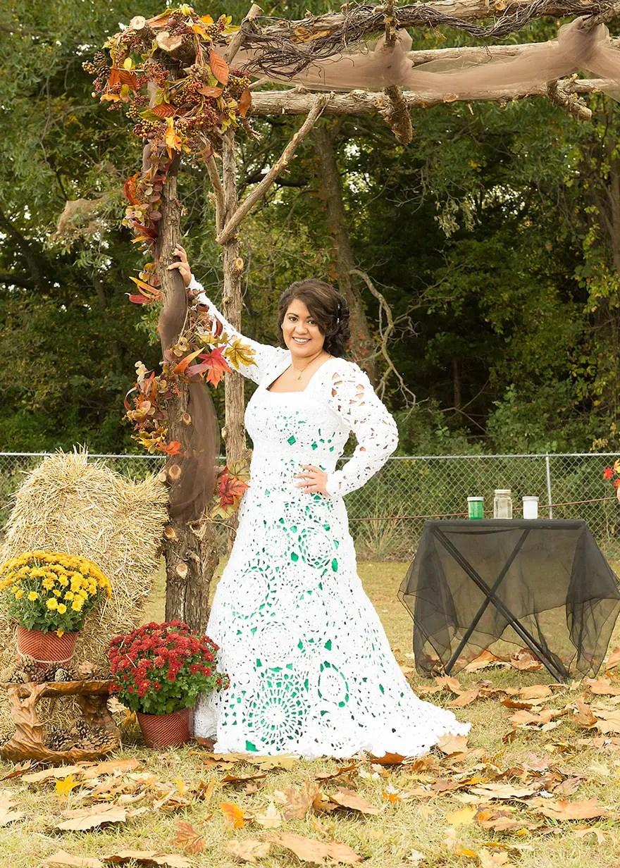 novia-teje-su-propio-vestido2