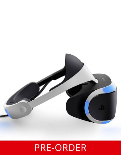 Sony Playstation VR [Pre-Order] | Headsets & Accessories | PS4 | Gaming | Virgin Megastore