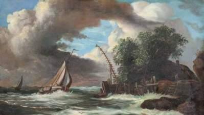 Marina in tempesta
