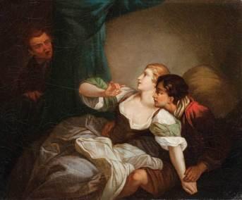 Gianciotto scopre Paolo e Francesca