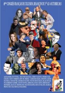49e congrès Français de l'Illusion et Championnat de France FFAP à Besançon @ Kursaal | Besançon | Franche-Comté | France