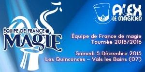 Équipe de France de magie FFAP (07) @ Centre Culturel Les Quinconces