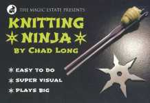 Knitting Ninja de Chad LONG