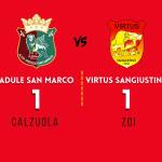 Padule San Marco - Virtus Sangiustino (1-1) - 12 Settembre 2021