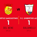Virtus Sangiustino - F.C. Umbertide Agape (1-1)  - 19 Settembre 2021