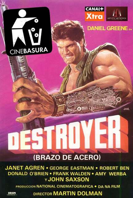 DESTROYER CINE BASURA VIRUETE PACO FOX ARTISTIC METROPOL