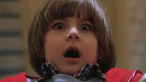 Shining : Danny effrayé.