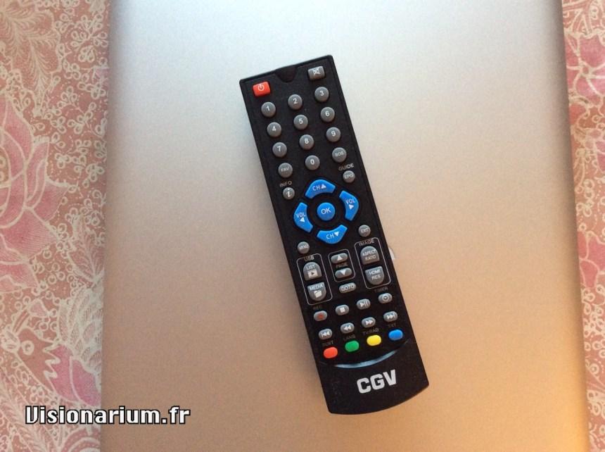 télécommande CGV