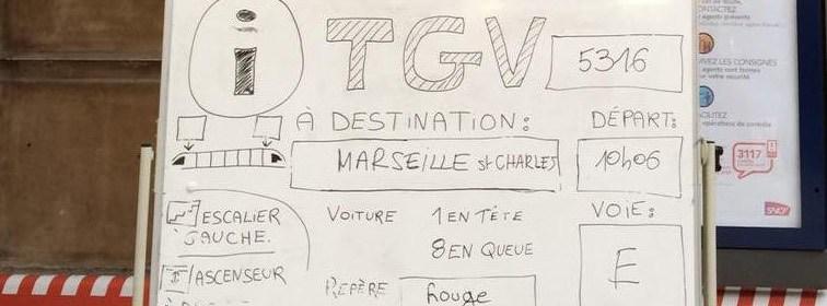 Travaux en gare de Versailles-Chantiers