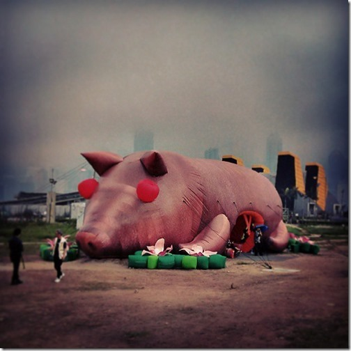 Mobile M+ Inflation : HK's West Kowloon Cultural District