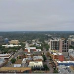 Tallahassee Observation Deck & New Capitol Building