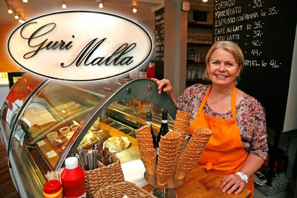 Elisabeth Meisal ønsker velkommen til Guri Malla.