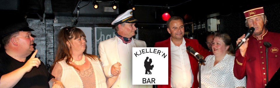 Kjeller'n Bar is known for it's cabarets and shows.
