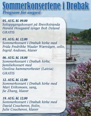 Sommerkonsertene i Drøbak @ Drøbak kirke | Akershus | Norge