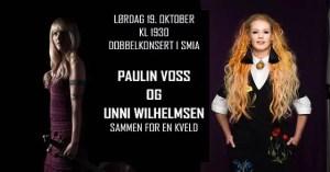 SMIA: En kveld med Paulin Voss og Unni Wilhelmsen @ Smia Flerbrukshus