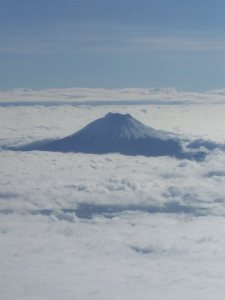 Aerial view of the Cotopaxi, © Carmen Cristina Carpio Tobar