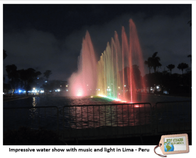 water show lima