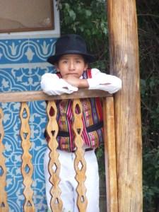 Otavalo traditional costume Otavalo, Ecuador © Carmen Cristina Carpio Tobar