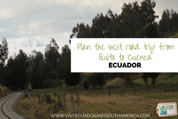 Road trip Quito Cuenca