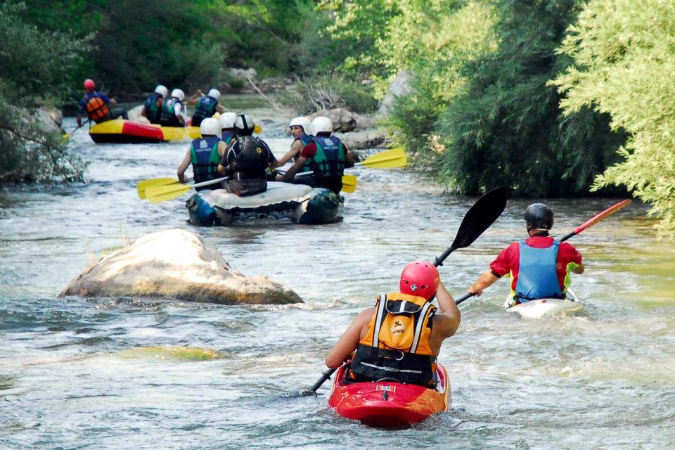 Rafting in Abruzzo