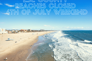 Beaches Closed 4th