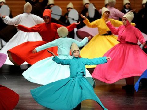 Dervish dance in Istanbul